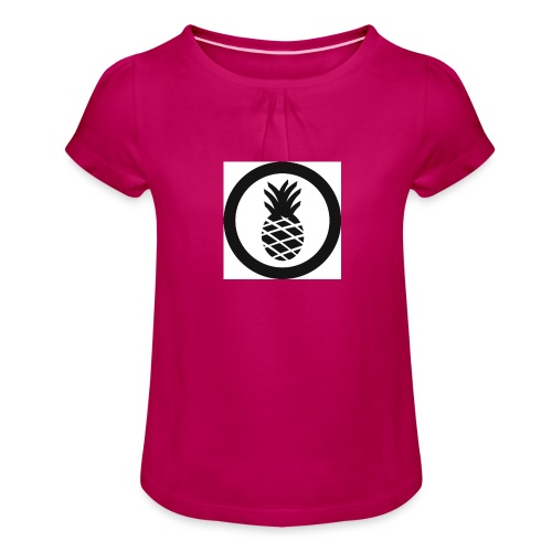 Hike Clothing - Girl's T-Shirt with Ruffles