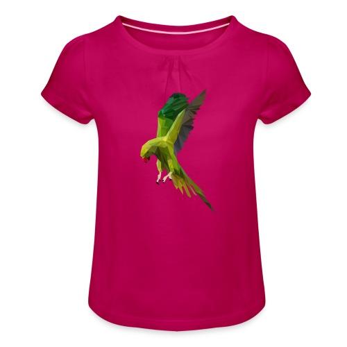 PERROQUET - MINIMALISTE - T-shirt à fronces au col Fille