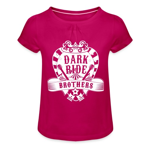 Dark Ride Brothers - Tyttöjen t-paita, jossa rypytyksiä