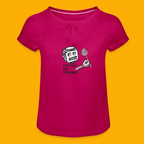 Dat Robot: Destroy Series Candy Light - Meisjes-T-shirt met plooien