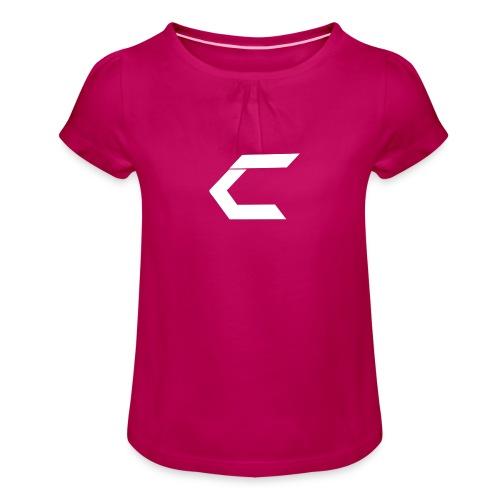 TCM LOGO - Pige T-shirt med flæser