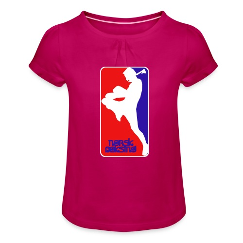 norsk boksing - Girl's T-Shirt with Ruffles