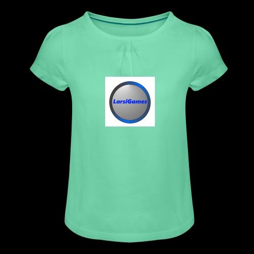 LarsiGames - Meisjes-T-shirt met plooien