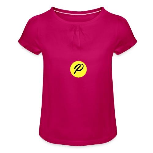 Pronocosta - T-shirt à fronces au col Fille