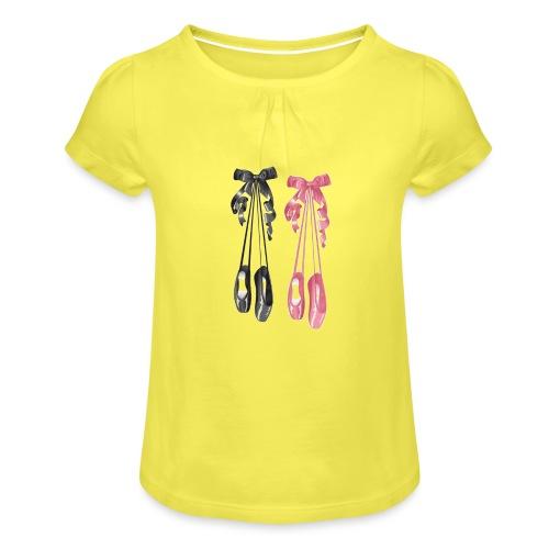 All That Dance - T-shirt à fronces au col Fille