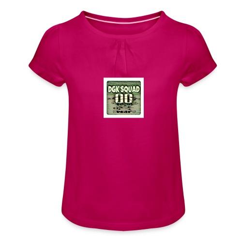 DGK - T-shirt à fronces au col Fille