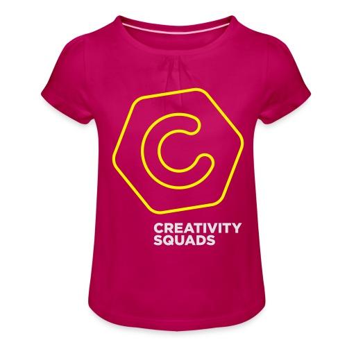 CS Hoodie Pink Unisex - Tyttöjen t-paita, jossa rypytyksiä