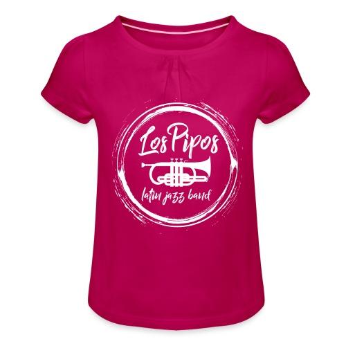 Los Pipos - Die Latin Jazz band - Mädchen-T-Shirt mit Raffungen