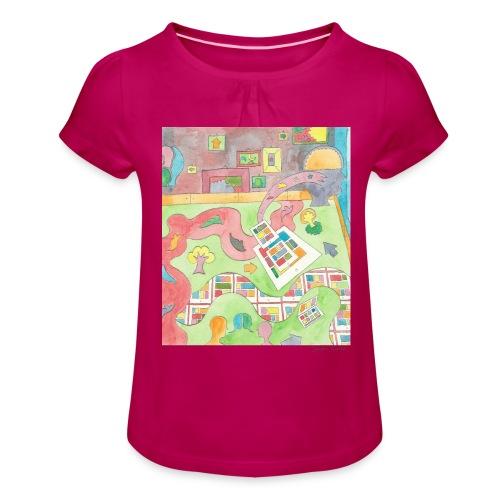 Hope - T-shirt à fronces au col Fille