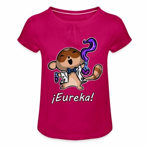 tanuki eureka - Camiseta para niña con drapeado