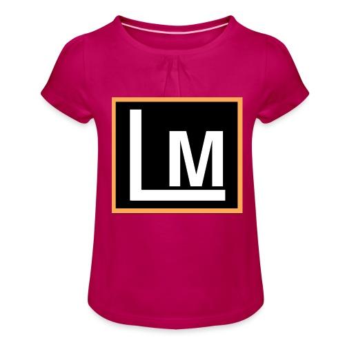 Original LukeMoto - Girl's T-Shirt with Ruffles