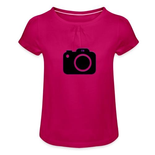 FM camera - Girl's T-Shirt with Ruffles