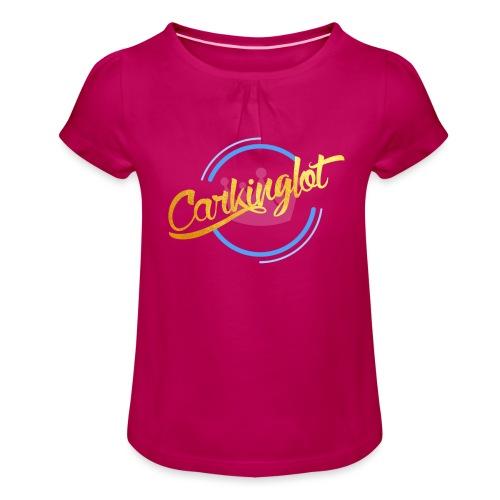 Carkinglot Transparant - Meisjes-T-shirt met plooien