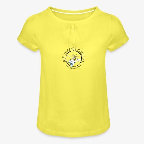 Lift élégance brio - T-shirt à fronces au col Fille