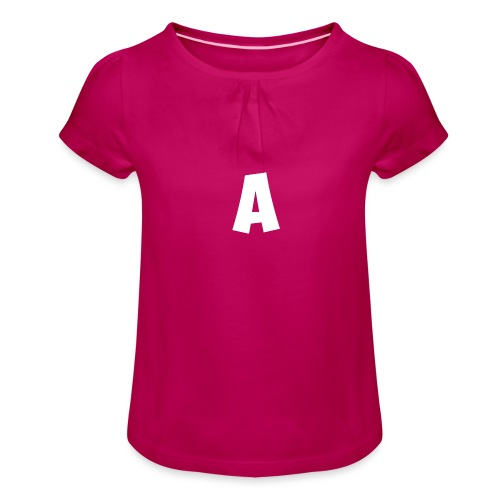 A t-shirt - Girl's T-Shirt with Ruffles