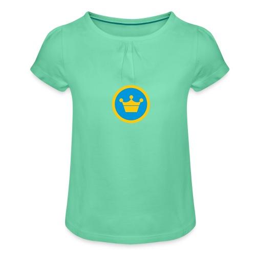 foursquare supermayor - Camiseta para niña con drapeado