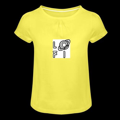 PLANET LOFI - Girl's T-Shirt with Ruffles