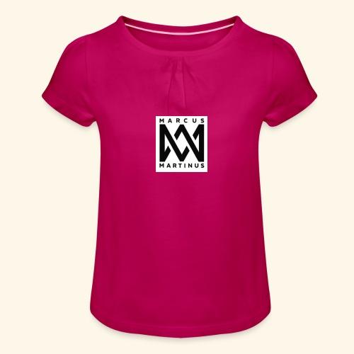 M m2244 - T-shirt med rynkning flicka