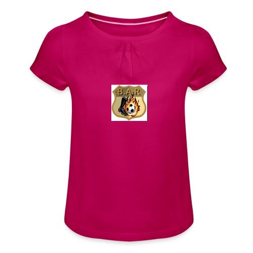 bar - Girl's T-Shirt with Ruffles
