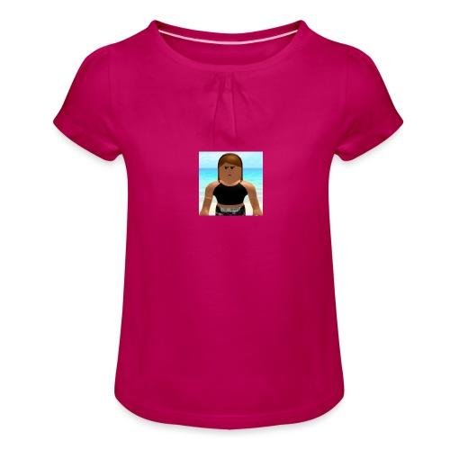 BABY KEISHA SHIRT - Girl's T-Shirt with Ruffles