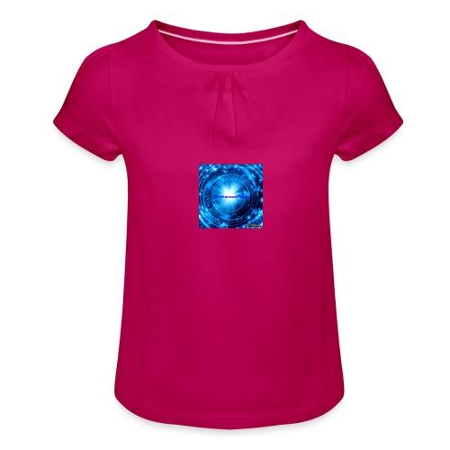 StefanosPlays - Meisjes-T-shirt met plooien
