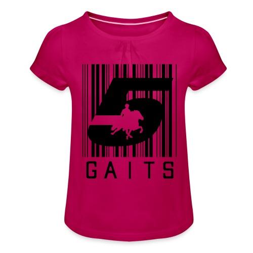 5gaitsBarcode 1 - Girl's T-Shirt with Ruffles