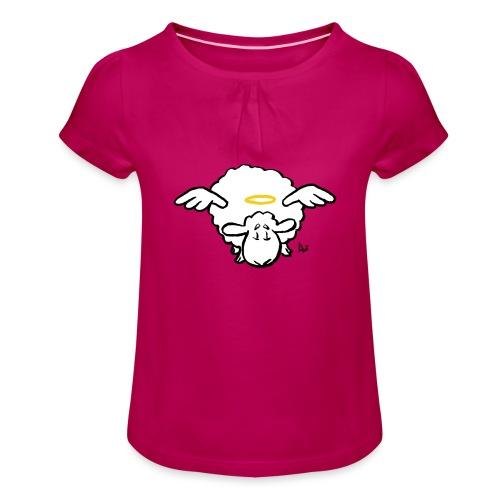 Angel Sheep - Jente-T-skjorte med frynser