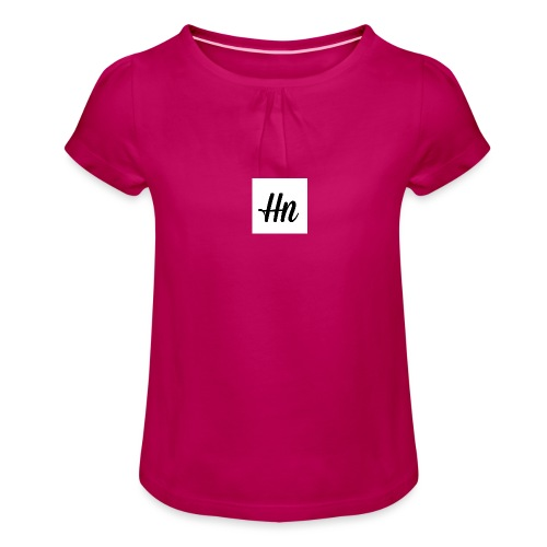 Hn signiture - Girl's T-Shirt with Ruffles
