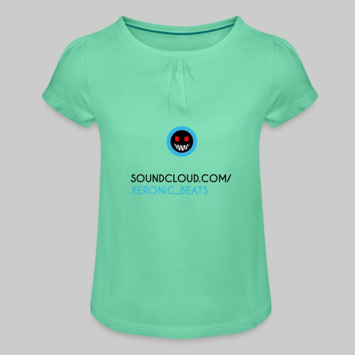XERONIC LOGO - Girl's T-Shirt with Ruffles