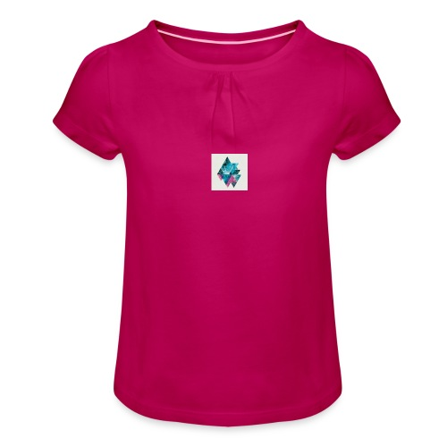 souncloud - Girl's T-Shirt with Ruffles