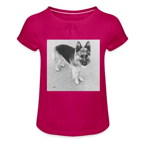 Ready, set, go - Meisjes-T-shirt met plooien