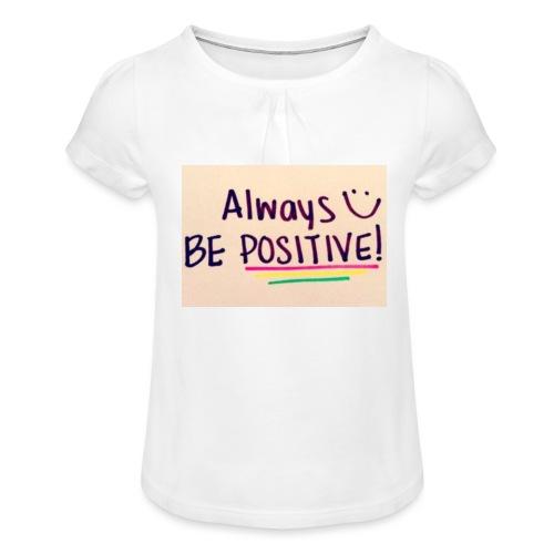 Bamse - Pige T-shirt med flæser