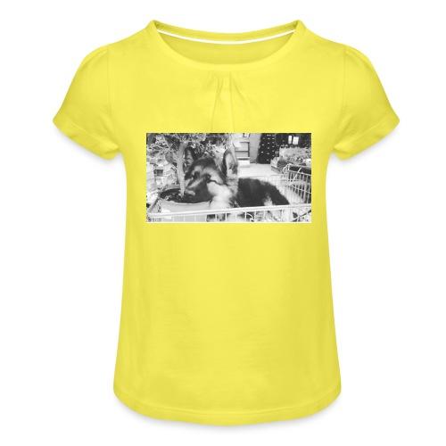 Zzz - Meisjes-T-shirt met plooien