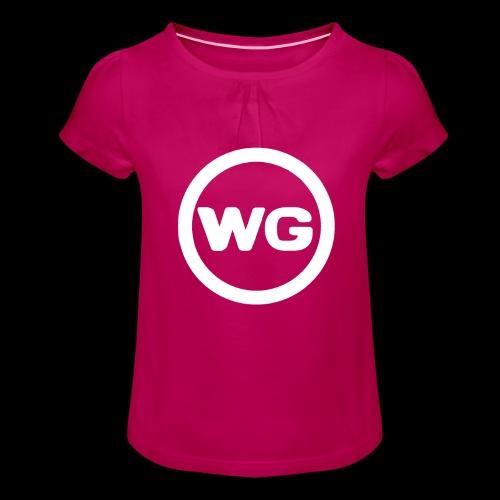 wout games - Meisjes-T-shirt met plooien