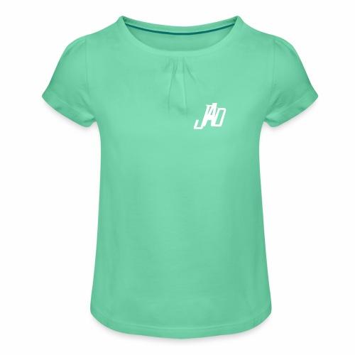 JennaAdlerDesigns - T-shirt med rynkning flicka