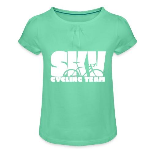 SKV CyclingTeam w - Mädchen-T-Shirt mit Raffungen