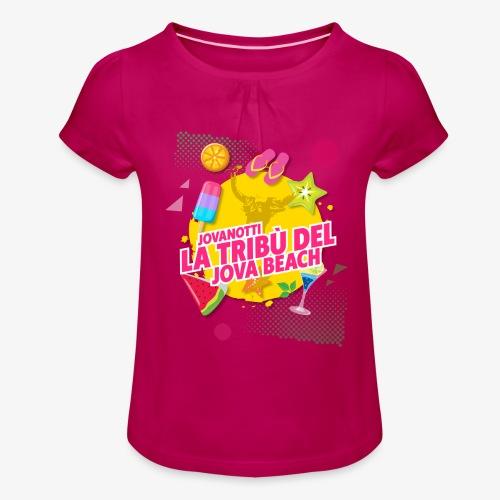 Tribù Beach 2019 - Maglietta da ragazza con arricciatura