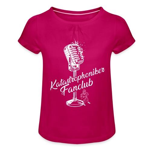 Katastrophoniker Fanclub - Mädchen-T-Shirt mit Raffungen