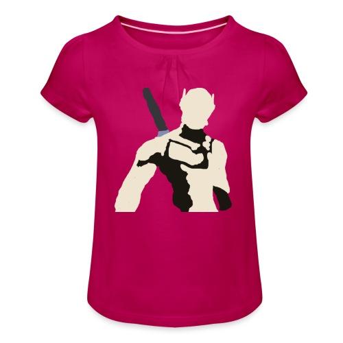 Genji - Koszulka dziewczęca z marszczeniami