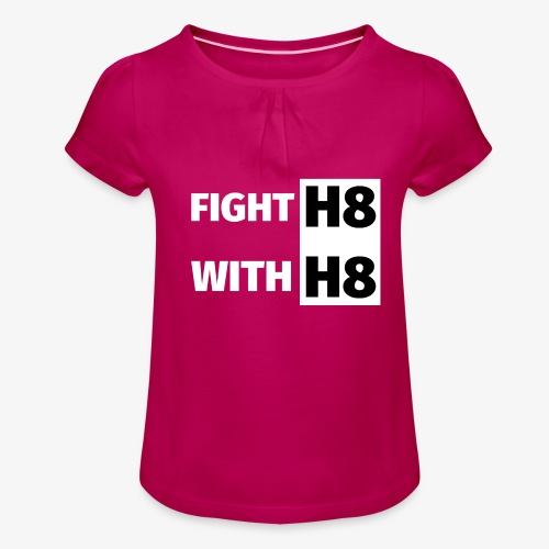 FIGHTH8 bright - Girl's T-Shirt with Ruffles