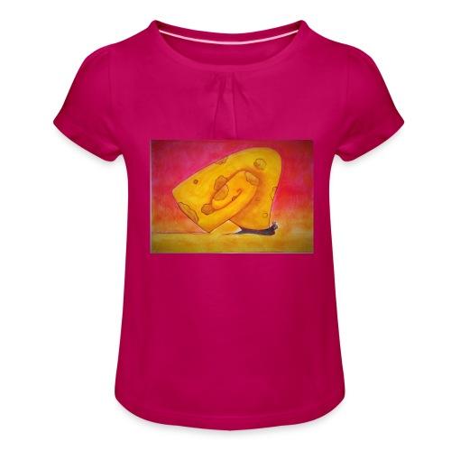 'Hope or Not' - Tyttöjen t-paita, jossa rypytyksiä