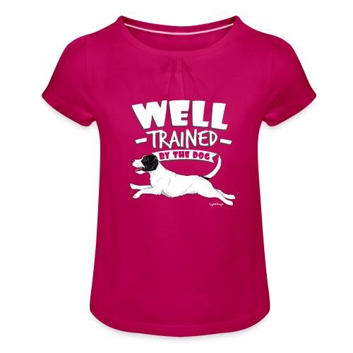 parsonwell3 - Girl's T-Shirt with Ruffles