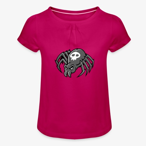 Angry Spider III - Tyttöjen t-paita, jossa rypytyksiä