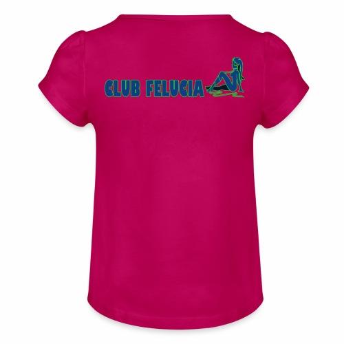 Madame's_Girls - Girl's T-Shirt with Ruffles