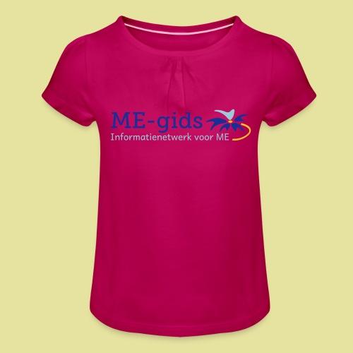 logomegids - Meisjes-T-shirt met plooien