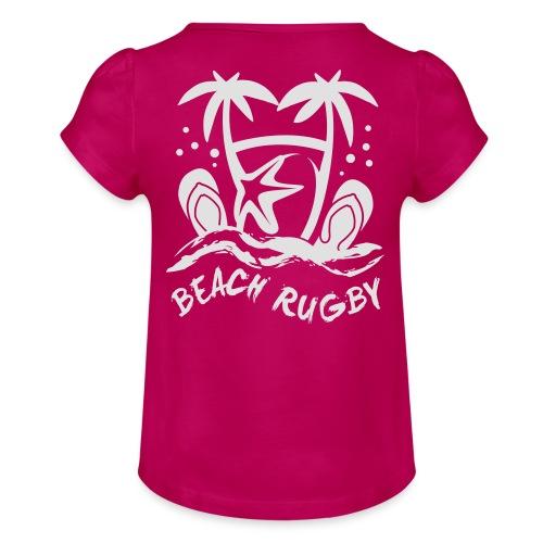BEACH RUGBY - T-shirt à fronces au col Fille