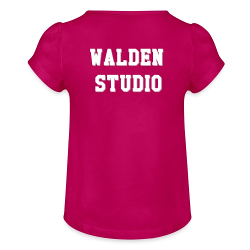 Walden Studio - T-shirt à fronces au col Fille