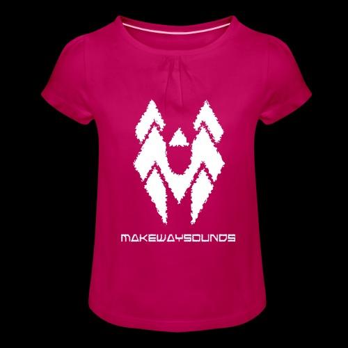 Wings - Tyttöjen t-paita, jossa rypytyksiä