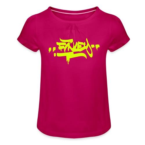 Finley - Mädchen-T-Shirt mit Raffungen