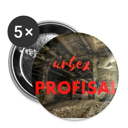 profisal - Przypinka mała 25 mm (pakiet 5 szt.)